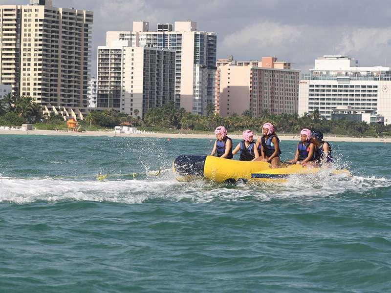 Locations For Banana Boat