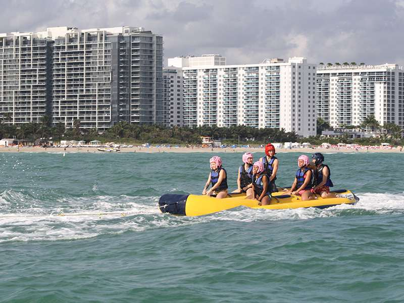 Locations For Banana Boat Rides Miami